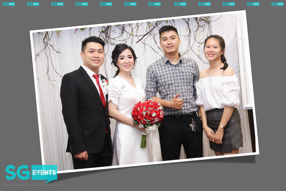 Dịch vụ in hình tiệc cưới lấy liền
